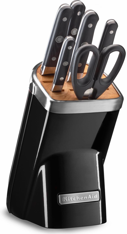 KitchenAid Onyx Messerblock 7 tlg. (KKFMA07OB)