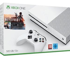Microsoft Xbox One S 500GB + Battlefield 1