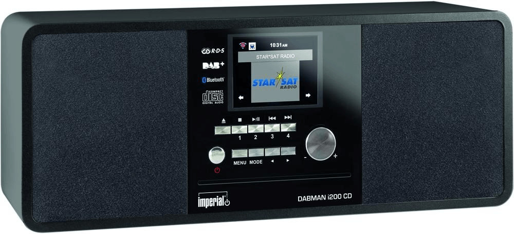 Image of Imperial Dabman i200 CD black