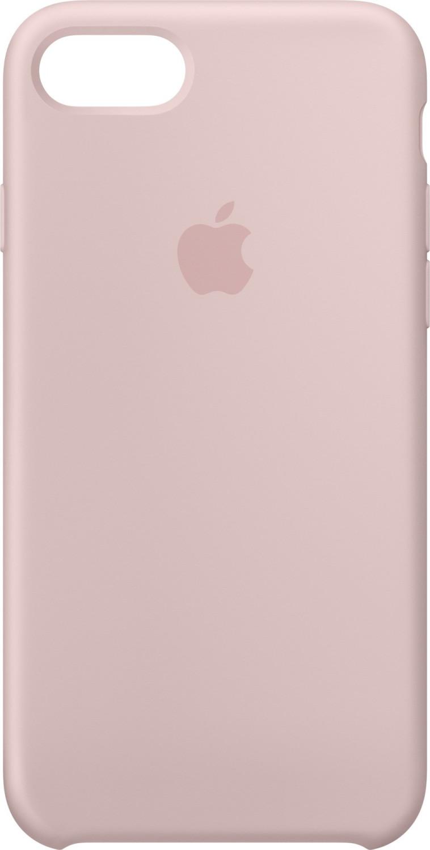 Apple Silikon Case (iPhone 7) sandrosa