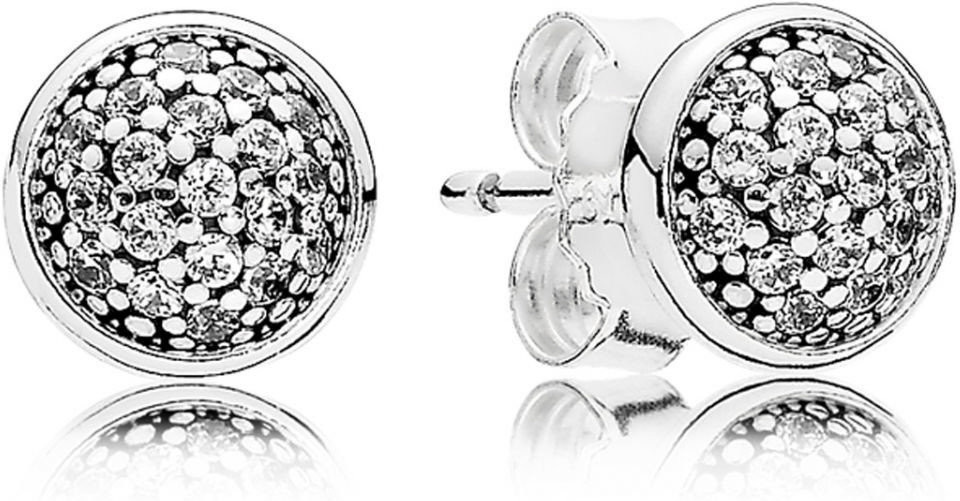 Pandora pendientes plata gotas deslumbrantes 290726CZ