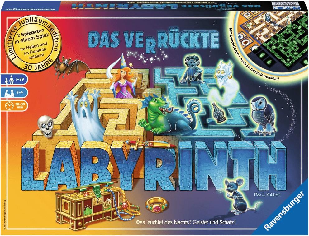Ravensburger Das verrückte Labyrinth 30 Jahre (26687)