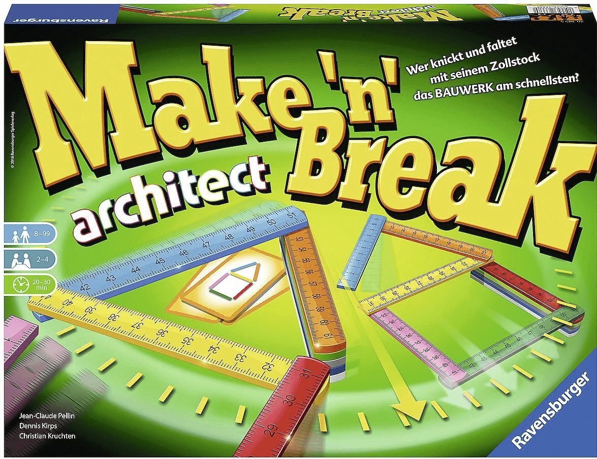Ravensburger Make ´n´ Break Architect (26345)
