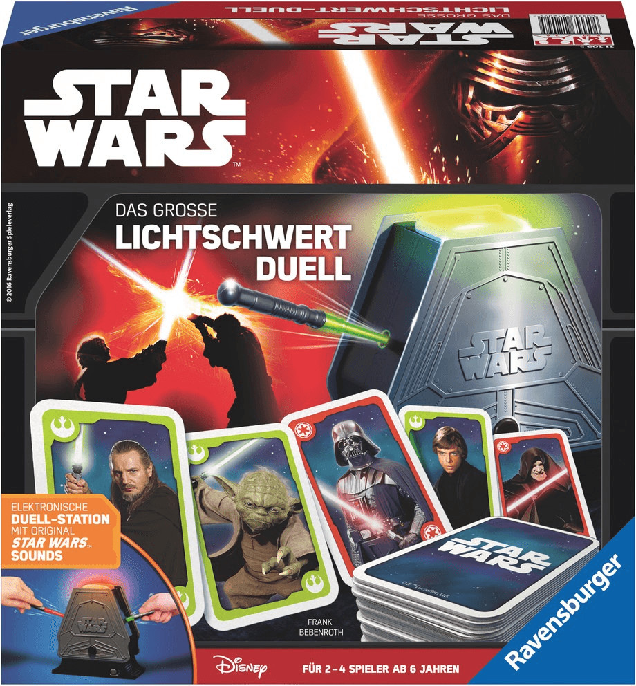 Ravensburger Star Wars Das große Lichtschwert Duell ( 21209)