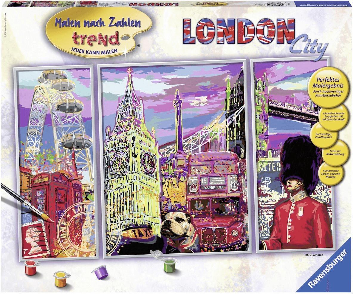 Ravensburger Malen nach Zahlen Trend London City