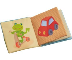 HABA Stoffbuch Zauberfrosch Bilderbuch Babybuch Buch Stoffspielzeug Spielzeug
