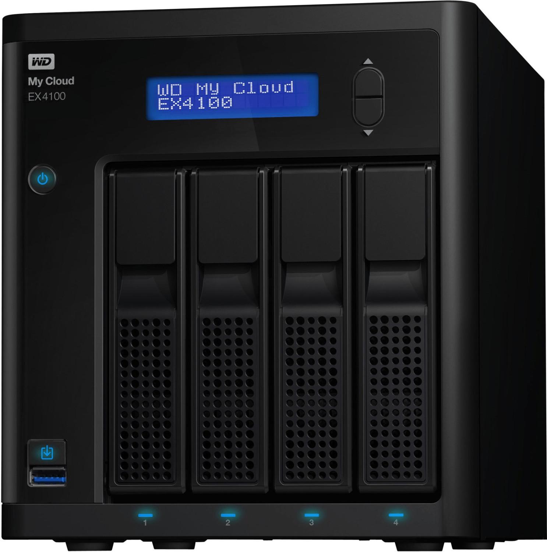 Western Digital My Cloud EX4100 4-Bay 32TB