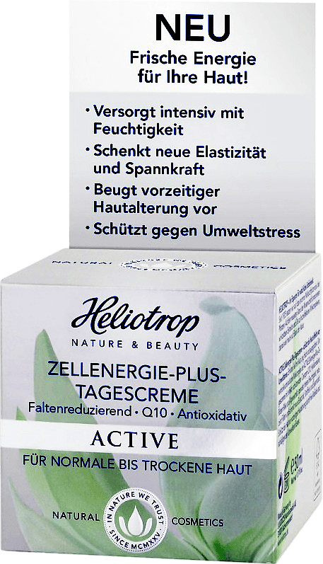Heliotrop Active Zellenerige Plus Tagescreme (50ml)