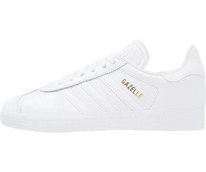 c5b3cc4b32f7 Buy Adidas Gazelle White White Gold Metallic from £69.99 (2019 ...