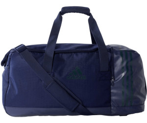 Adidas 3 Stripes Team Bag M collegiate navy/utility green (AY5869)