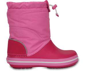 a052a9b2a07f9 Crocs Kids Crocband LodgePoint Boot candy pink party pink au ...