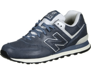 NEW BALANCE ML 574 LUB Leather Schuhe stone blue powder ML574LUB Leder Sneaker