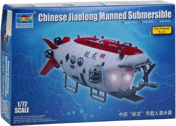 Trumpeter Chinese Jiaolong Manned Submersible (...