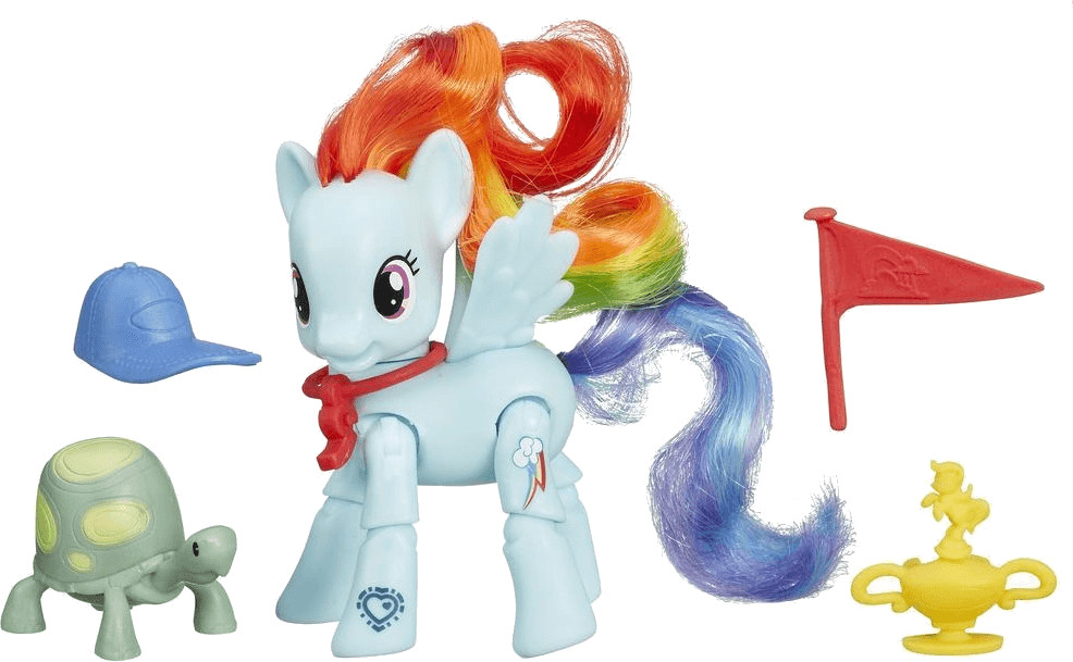 My Little Pony bewegliches Pony Rainbow Dash