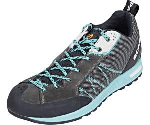 Scarpa Gecko Lite Blau-Grau, Damen Hiking- & Approach-Schuh, Größe EU 38 - Farbe Shark-Lagoon Damen Hiking- & Approach-Schuh, Shark - Lagoon, Größe 38 - Blau-Grau