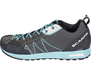 Scarpa Gecko Lite Blau-Grau, Damen Hiking- & Approach-Schuh, Größe EU 40 - Farbe Shark-Lagoon Damen Hiking- & Approach-Schuh, Shark - Lagoon, Größe 40 - Blau-Grau