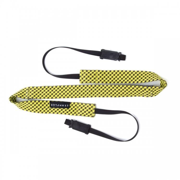 Image of Crumpler Check Strap Grey/Yellow