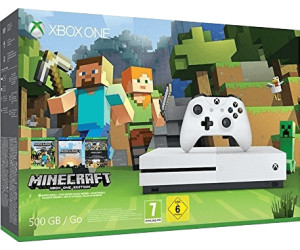 Microsoft Xbox One S 500GB + Minecraft Favourites