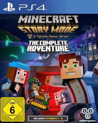 Minecraft: Story Mode - A Telltale Games Series...