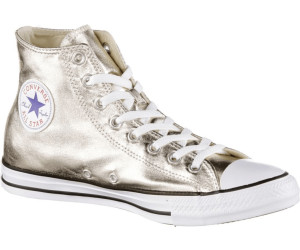 437b847658d1d6 Buy Converse Chuck Taylor All Star Hi - light gold white black from ...