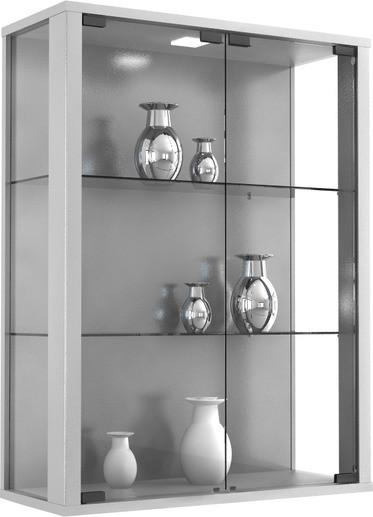 VCM Udina Glasvitrine ohne Beleuchtung | Wohnzimmer > Vitrinen > Glasvitrinen | Glas