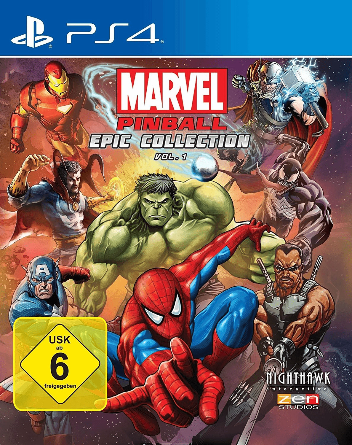 Marvel Pinball: Epic Collection - Vol. 1 (PS4)