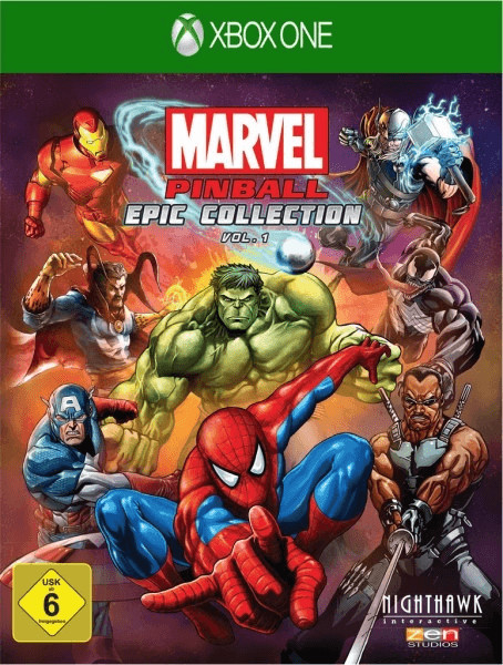 Marvel Pinball: Epic Collection - Vol. 1 (Xbox ...
