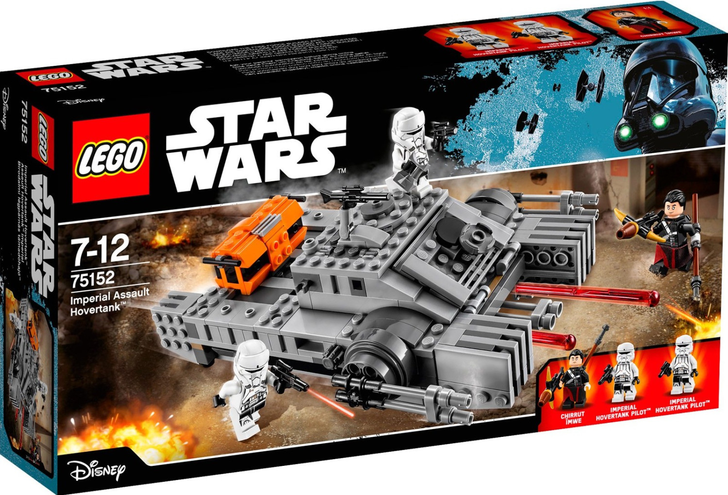 LEGO Star Wars - Imperial Assault Hovertank (75152)