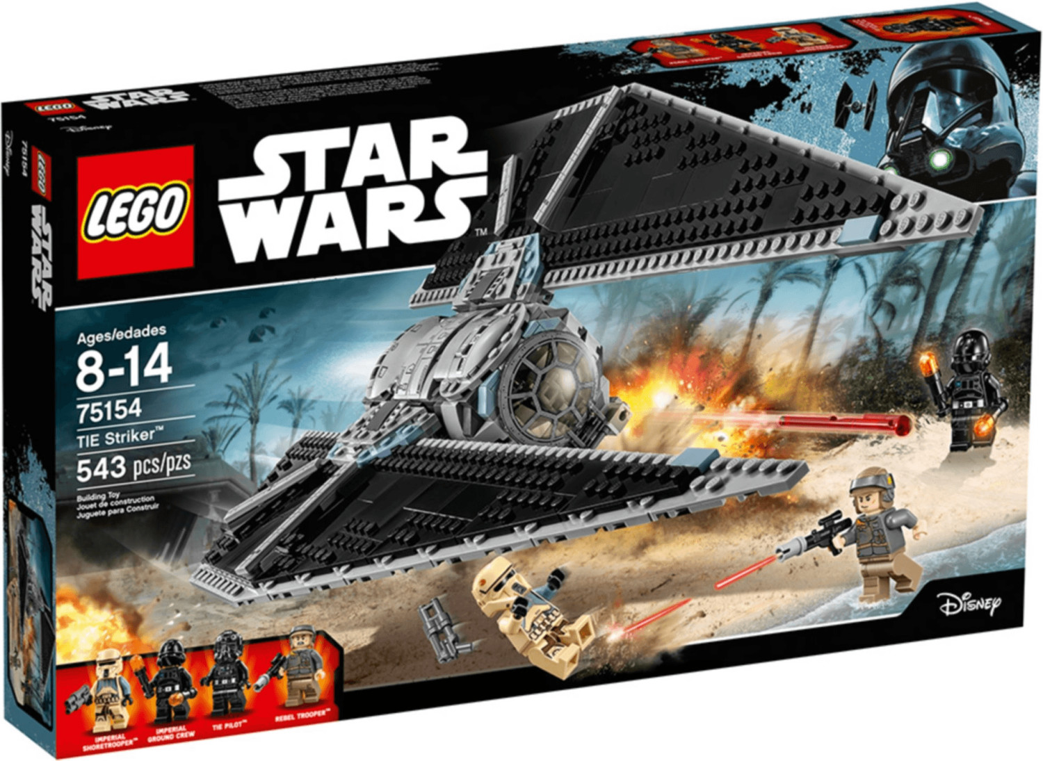LEGO Star Wars - TIE Striker (75154)