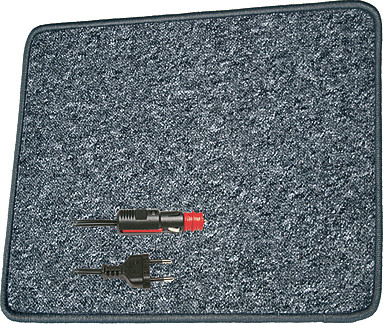 Pro Car Heizteppich 20203501 (antirutsch, 12V)