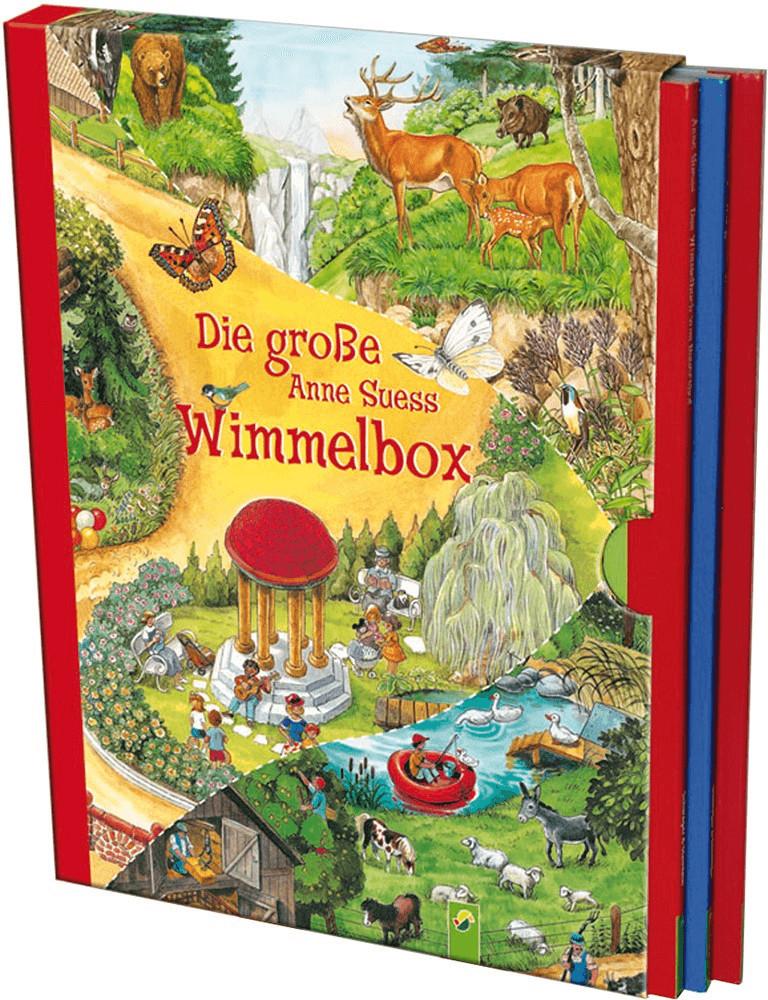 Die große Anne Suess Wimmelbox: 3 Wimmelbücher im Schuber (Anne Suess)
