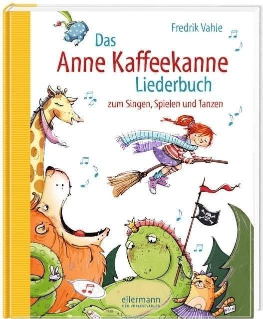 Das Anne Kaffeekanne Liederbuch (Aktive Musik Verlagsgesellschaft mbH, Fredrik Vahle)
