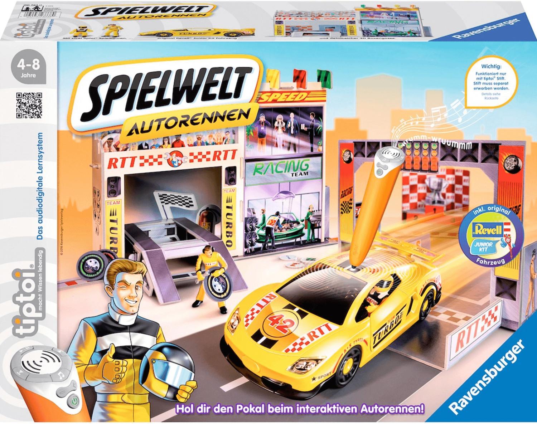 Ravensburger tiptoi Spielwelt Autorennen