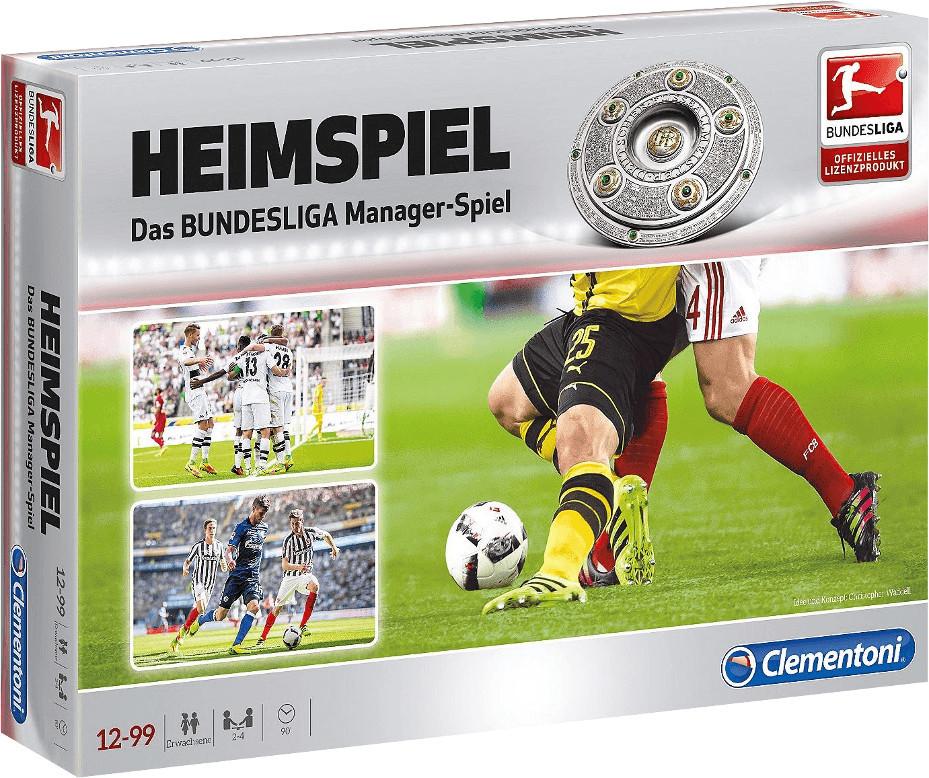 Clementoni Heimspiel Das Bundesliga Managerspiel