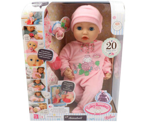 Baby Annabell Mit Funktion 794401 Ab 29 99 Oktober