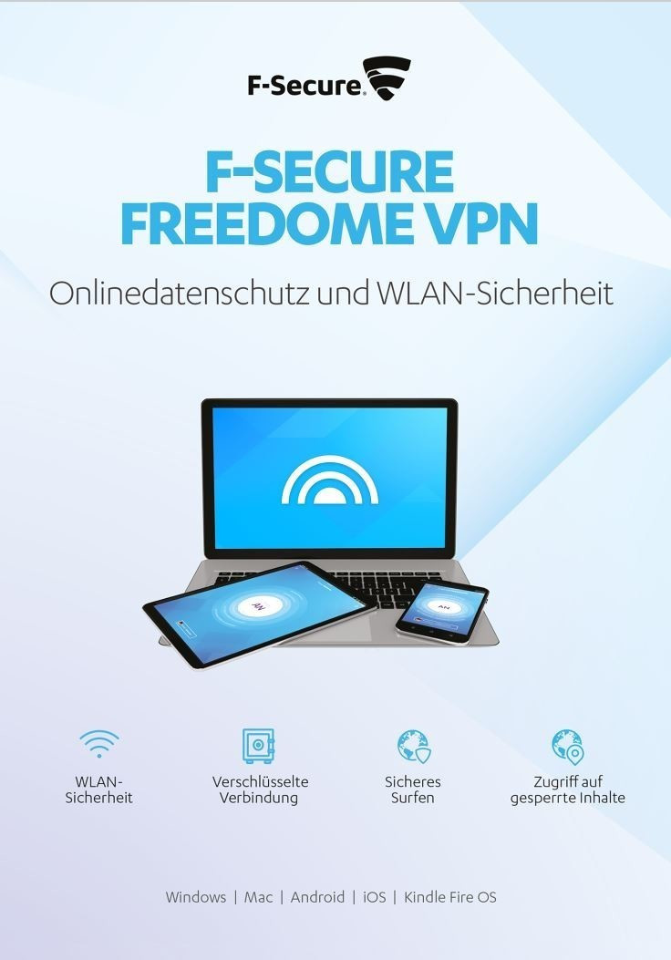 Image of F-Secure Freedome VPN (3 Devices) (1 Year)