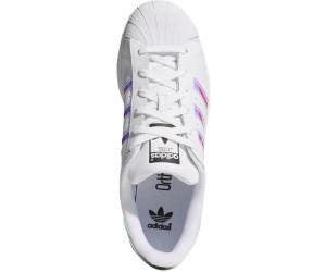 ADIDAS SUPERSTAR J Kinderschuh White White White Schuhe Sneaker Weiß Silber