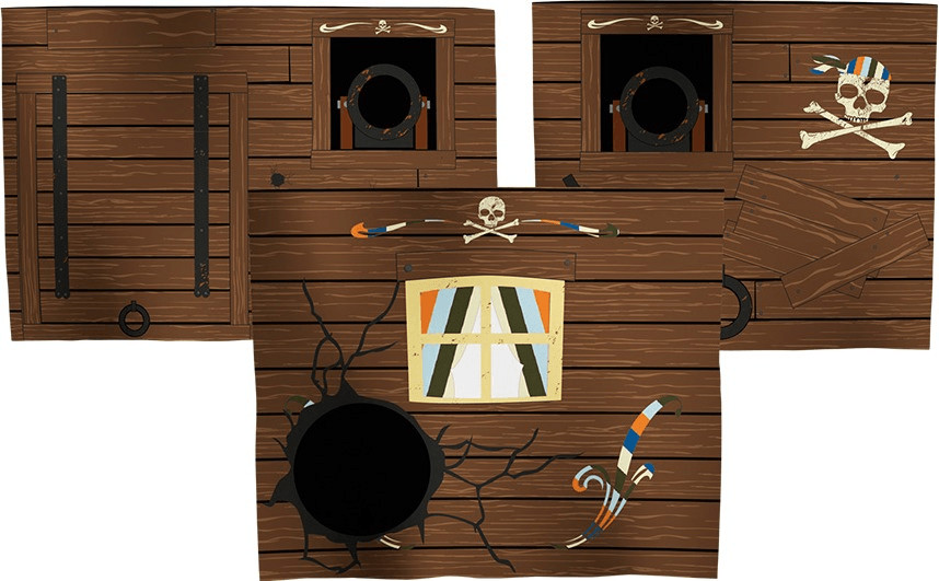 Flexa Pirat Spielvorhang