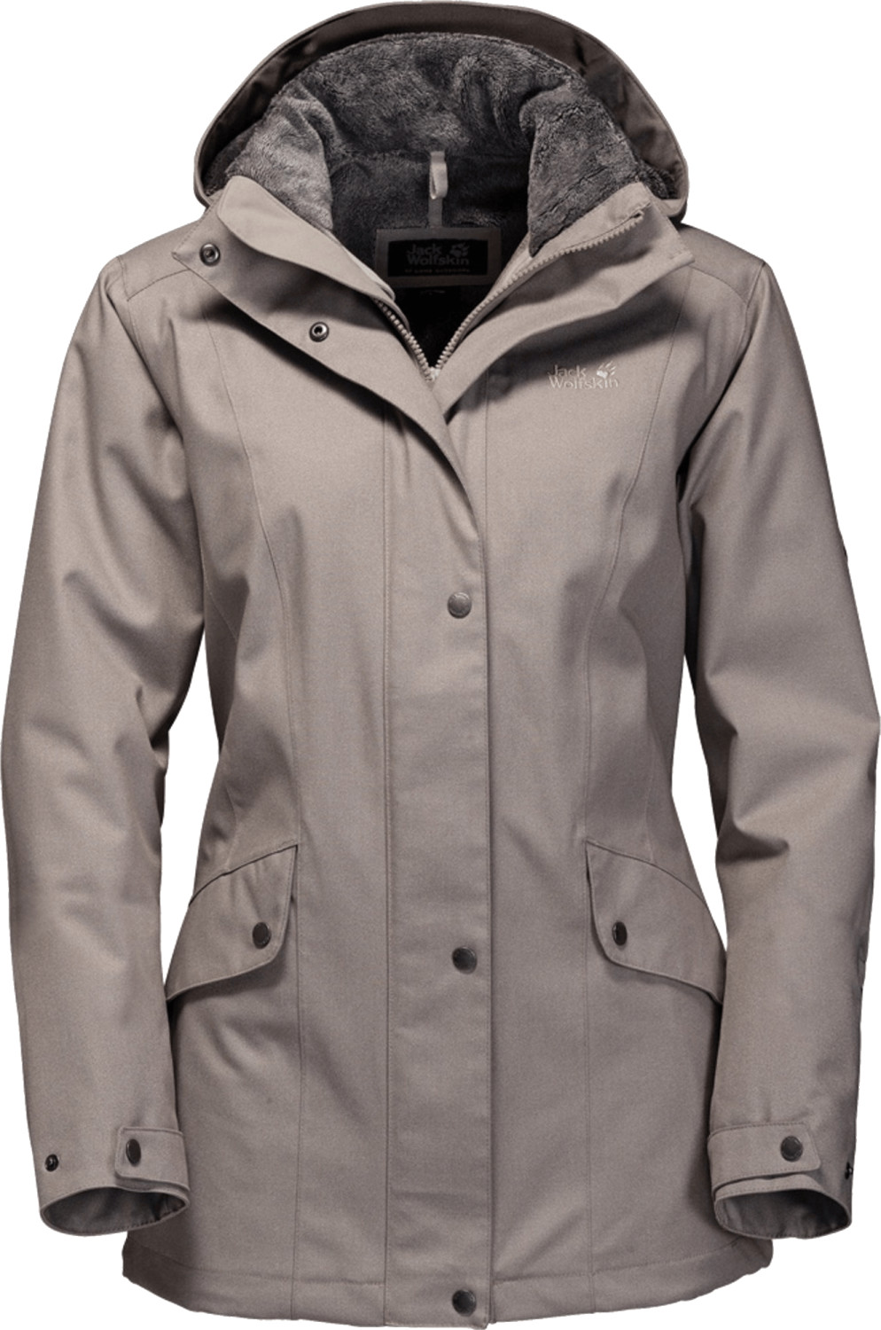 Jack Wolfskin Park Avenue Jacket Moon Rock