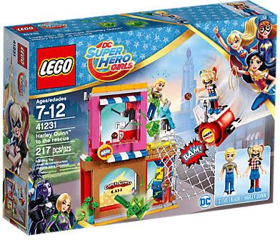 LEGO DC Super Hero Girls - Harley Quinn eilt zu Hilfe (41231)