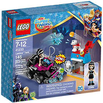 LEGO DC Super Hero Girls - Lashinas Action-Cruiser (41233)