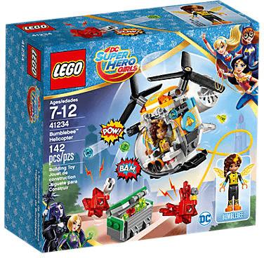 LEGO DC Super Hero Girls - Bumblebees Hubschrauber (41234)