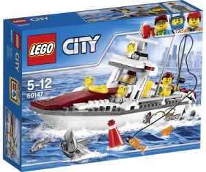 lego city le bateau de pche 60147 au meilleur prix sur idealofr - Lego City Bateau