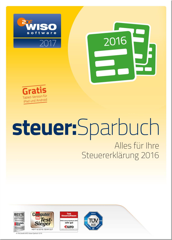 Buhl WISO steuer:Sparbuch 2017 ab 23,78 €   Preisvergleich ...