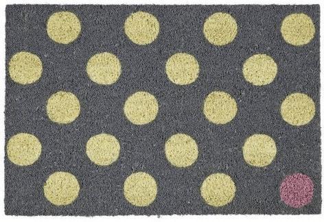 Gift Company Polka Dots grau | Flur & Diele > Fußmatten