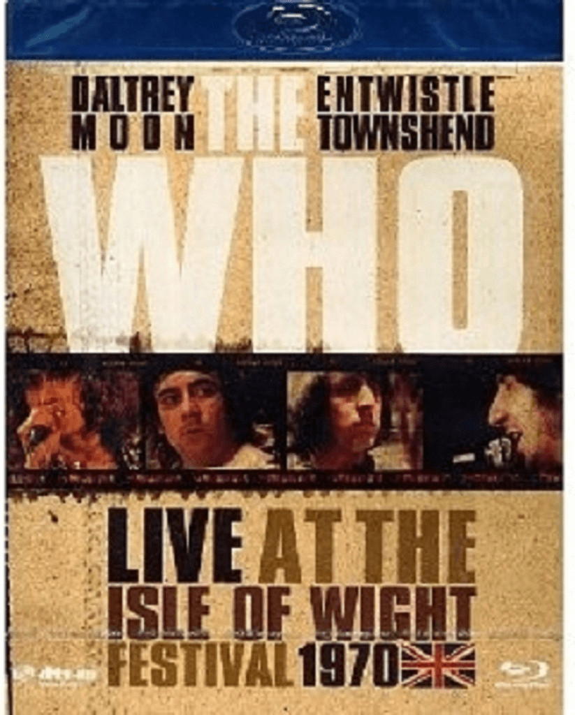 Image of The Who - Live At The Isle Of Wight Festival 1970