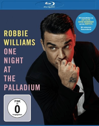 Robbie Williams - One Night at the Palladium [Blu-ray]