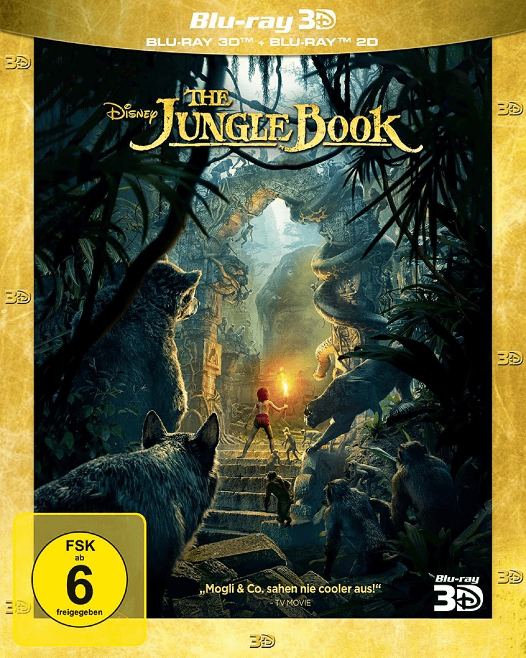 The Jungle Book 3D+ 2D [Blu-ray]