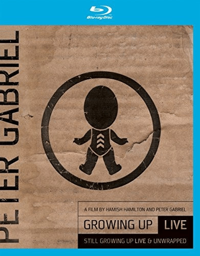 Image of Peter Gabriel - Growing Up Live & Unwrapped (+ DVD) [Blu-ray]