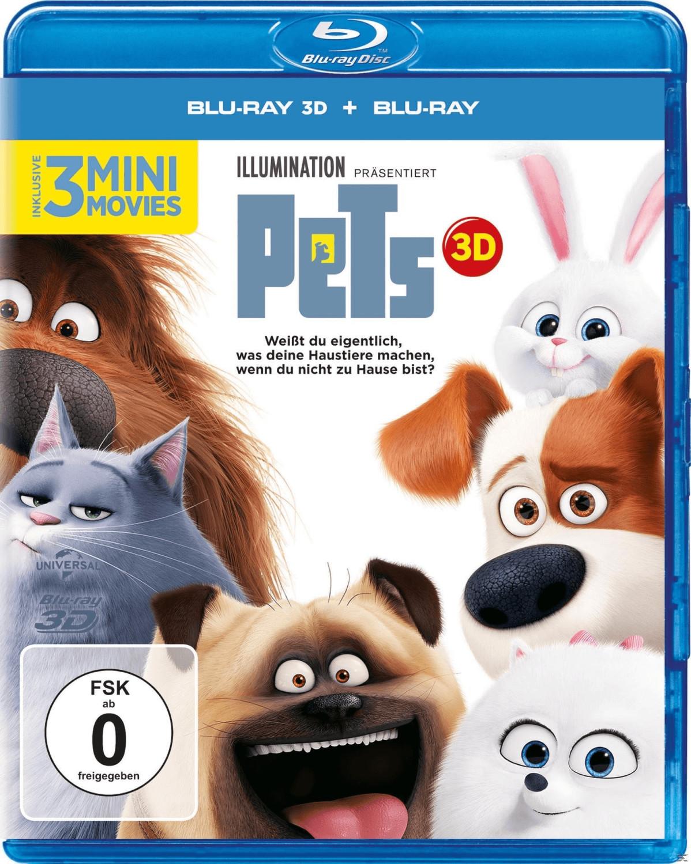 Pets (+ Blu-ray) [Blu-ray 3D]